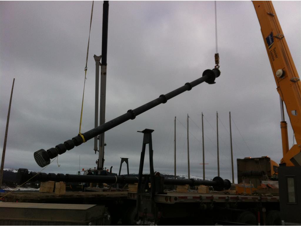 Installation Of 8 Vertical Turbine Pumps Technojet Vt