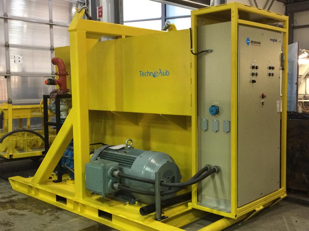 Emergency pump (Technojet)