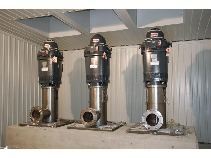 Vertical turbine pumps Technojet VT